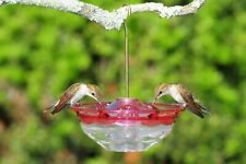 Bird Feeder, Aspects Humm Blossom Hummingbird Birdfeeder Hanging Rose Holds 4oz