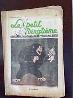 Tintin - Petit Vingtième- n°8 du 24/02/1938 ( COUVERTURE TINTIN ÎLE NOIRE) TBE!!