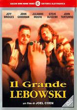 DVD • Il Grande Lebowski JEFF BRIDGES GOODMAN CAPOLAVORO ITALIANO