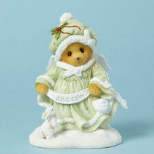 Cherished Teddies 4040475 All Is Calm Luciana Snow Angel Bear NIB