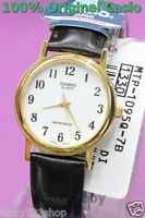 MTP-1095Q-7B Casio Watches Genuine Leather Band Analog Casual Dress Men's New