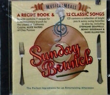 SUNDAY BRUNCH - RECIPE BOOK & 12 CLASSIC SONGS - SONY SPEC. PRODUCTS - SEALED CD