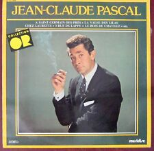 Jean-Claude Pascal 33 Tours Collection Or