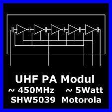 (2 x) UHF Power Module nle9474a 450 mhz 5 W Motorola Gold