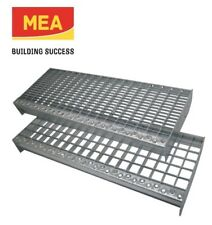 Meastep Gitterrost-Treppenstufe XSL 800x270 mm MW 30/10 verzinkt