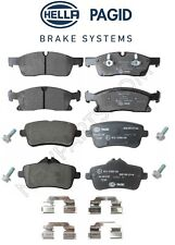 NEW Mercedes W166 GLE300d GLE350 ML250 Front And Rear Brake Pad Sets Hella Pagid