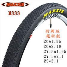 "2pcs MAXXIS M333 26/27.5/29"" MTB Tyre Durable Mountain Bike Cross Country Tire"