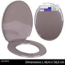 WC-lunettes de toilettes couvercle WC siège Couvercle Siège de toilettes automatisme de descente 0465mtg