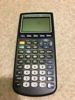 Texas Instrument TI-83 Plus Graphics Calculator Graphing For Parts or Repair