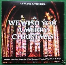 A Choral Christmas Cathedral Choirs + Absolutely Excellent Condition CD