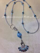 Handmade Knitting Stitch Marker Necklace Set (SNAG FREE)