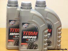 11,75€/l Fuchs Titan Sintopoid FE 75W-85 3 x 1 L Achsgetriebeöl MB 235.7 VW Audi