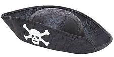 Sombrero De Pirata CHICOS CHICAS CHICOS CHILDS NIÑOS Capitán Garfio Jack Fancy Dress
