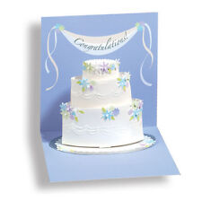 Wedding Cake Pop-Up Wedding Card - Greeting Card by Up With Paper