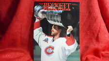 NHL Beckett Magazine Montreal Canadiens Patrick Roy August 1993
