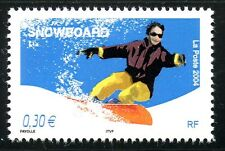 STAMP / TIMBRE FRANCE NEUF N° 3699 ** SPORT DE GLISSE / SNOWBOARD