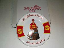 119TH ALABAMA STAKES SILVERBULLETDAY PLATE 2000 NYRA SARATOGA