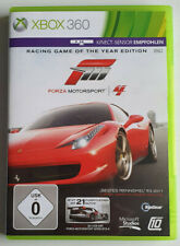 Forza Motorsport 4 (2011, Racing Game of the Year Edition, Xbox 360)