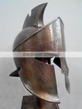 300 Spartan King Leonidas Helmet Medieval Movie Roman Greek Armor Costume Larp