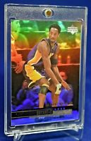 KOBE BRYANT UD ENCORE 37 RAINBOW REFRACTOR SP RARE LOS ANGELES LAKERS