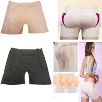 Women Sexy Silicone Padded Panties Shapewear Bum Butt Hip Enhancing Underwear