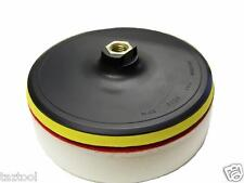 """7"""" Foam Polisher Buffer Pad W/ Hook & Loop Backing &1.5"""" Thick Foam"""