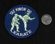 Vintage 70s TAE KWON DO KARATE Martial Arts GI Uniform Collectors Patch