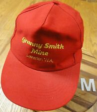 GRANNY SMITH MINE LAVERTON WASHINGTON HAT SNAPBACK ADJUSTABLE VERY GOOD COND