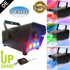 3-in-1 500W LED Effektmaschinen Nebelmaschine Nebel Smoke Fog Machine Fogger DJ