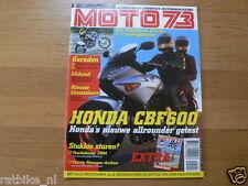M0404-HONDA CBF600,YAMAHA 450F 2WD,ABSAF BSA DE JONG,BMW R1150GS TOURATECH