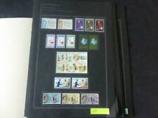 Philippines 1963-1966 Stamp Collection on Album Pages