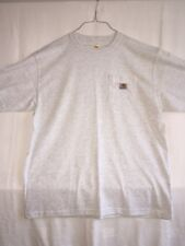 New Carhart Original Fit Crewneck Short Sleeve- Grey- Size Large-