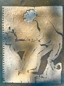 FRANCISCO TOLEDO SIGNED ETCHING ON HANDMADE BOOK COVER. Rufino Tamayo protégé