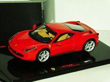 FERRARI 458 ITALIA  HOT WHEELS ELITE P9953 1/43