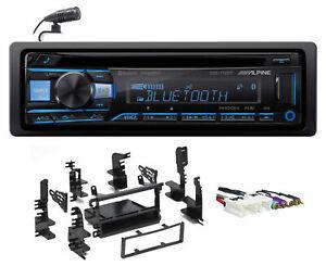 ALPINE Bluetooth CD Receiver USB/AUX SiriusXM For 1997-2000 INFINITI QX4