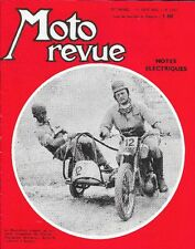 Moto Revue 1553 . 19 Aout 1961 . Side Car Cross De Lavoux .