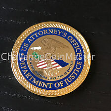 A2 DOJ US Attorney's Office West Virginia District Challenge Coin
