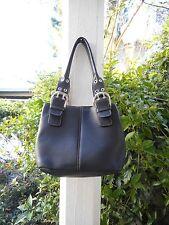 TIGNANELLO Women's Black  Genuine Leather Medium Handbag