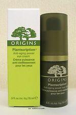 Origins Plantscription Power Eye Cream 15ml - NEW - Boxed