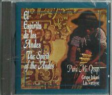 El Espíritu De Los Andes Para Mi Qosqo  Latin Music CD