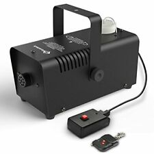 Nebelmaschine Mini Fansteck Wireless Bühne Zubehör Fernbedienung 400W Schwarz