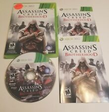 Assassin's Creed: Brotherhood (Microsoft Xbox 360, 2010) complete free shipping
