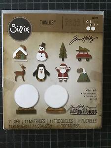 Sizzix Tim Holtz Stanzen kleine Schneekugel
