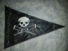 Custom triangle JACKASS Skull Safety Flag 4 JEEP ATV UTV trike Dune Whip Pole