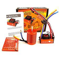 SKYRC LEOPARD 60A ESC 13T 3000KV Brushless Motor w/Program card for 1/10 RC Car
