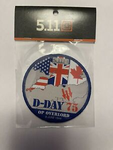 5.11 Tactical Patch UNRELEASED D Day OP Overlord 5.11 Patch RARE