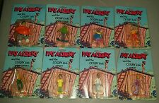 Fat Albert and the Cosby Kids set of 8 figures 1982 vintage lot NEW MOC SEALED