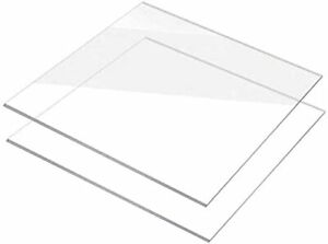 Clear Acrylic Perspex Sheet Home Window Glass Sheet Cut To Many Sizes