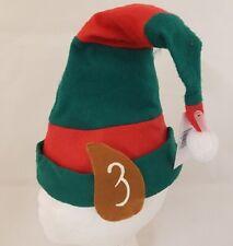 Disfraz de Navidad Hombre Mujer Niños Unisex Polar Elf Hat con Orejas Nuevo H