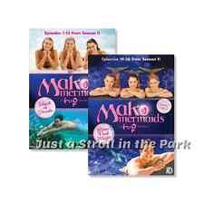 Mako Mermaids Island of Secrets Complete Season 1 Volumes 1 & 2 Box / DVD Set(s)